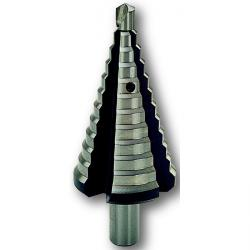 Flerstegs borr - HSS DM 05 - ALFRA PVD - 10 mm