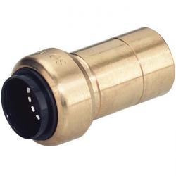 Steckverbinder Messing STV-GRS Reduzier Click it System 15-28 mm NBR
