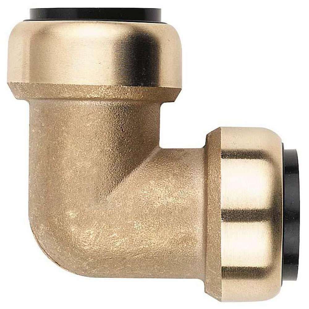 Winkelsteckverbinder STV-W90 für Schneider Click it System 15-28 mm, Messing, NB