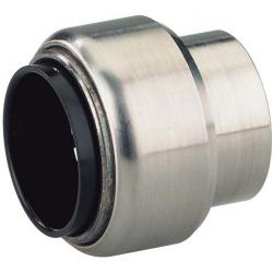 """Blindkappe """"STV-BK V4A"""" - 15 bis 28 mm - V4A - EPDM"""