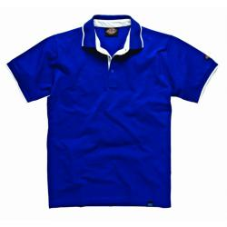 "Polo Shirt ""Anvil"" - Dickies 22 - 100% cotone - colore blu"