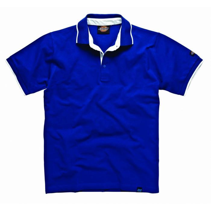 """Tenniströja """"Anvil"""" - Dickies 22 - 100% bomull - blå"""