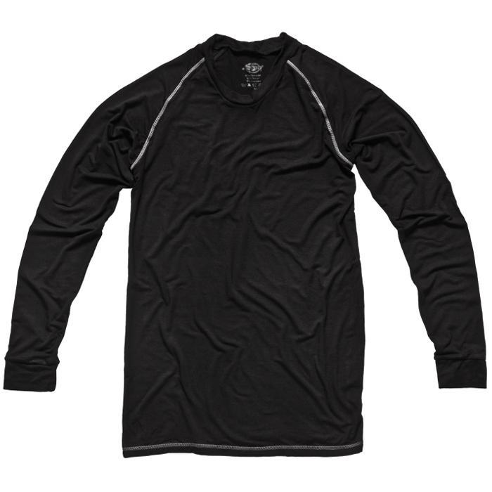 Oberteil langärmelig Unterhemd - Dickies - atmungsaktiv - Tencel und Bambusfaser