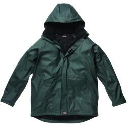 "Raincoat ""Raintite"" - Dickies - green - 100% polyester 200 g / sqm"