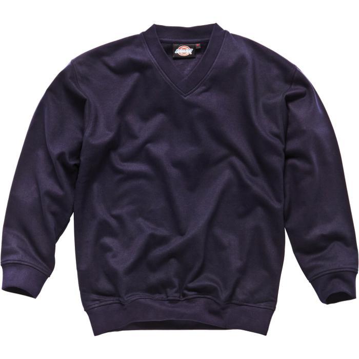 Tröja - Dickies - marinblå - 65% polyester - V-ringad