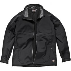 "Soft Shell Jacket ""Interactive System"" - element - black - waterproof - breathab"