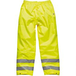 High-visibility trousers - waterproof - Dickies - EN471 and EN343 - yellow