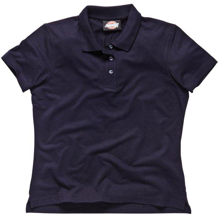 Tenniströja - dam - Dickies - marinblå - 65% polyester