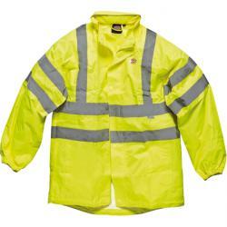 Giacca - ad alta visibilità - Dickies - EN471 + EN343 - colore giallo