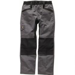 """Arbeitsbundhose """"Industry260"""" - Kniepolstertaschen - für den harten Industrieeinsatz - Größe 50 - grau/schwarz"""