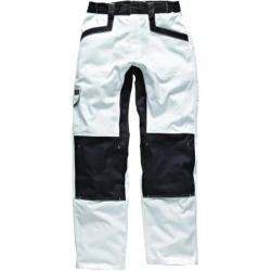 """Pantaloni da lavoro """"Industry260"""" - Dickies - colore bianco/grigio"""