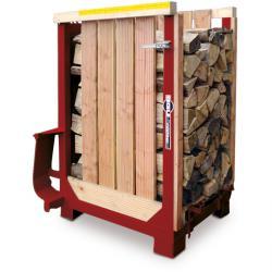 Loggar Palette - SHP 80-0,8 SRM - 33 eller 50 cm längd stockar