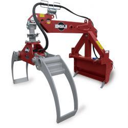 Timber gripar - HRZ Fix-EZ - integrerad hasplåt