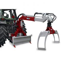 Timber gripar - HRZ lastare - högintressant och lastning - 12 ton lyftkapacitet