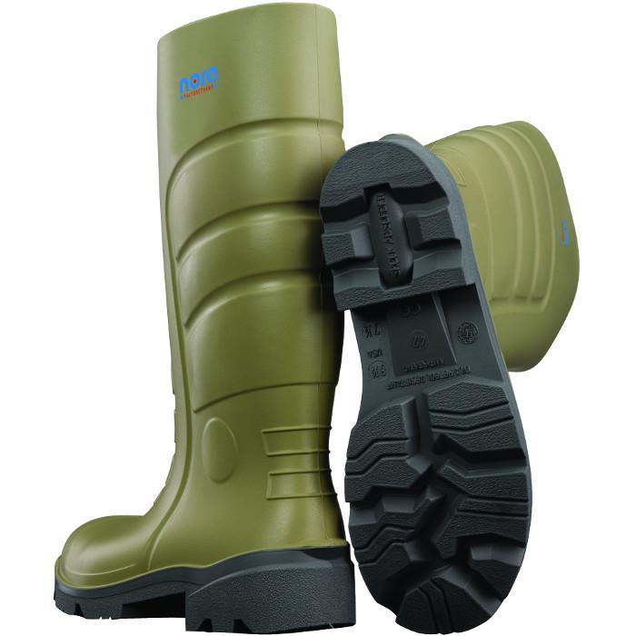 Sicherheitsstiefel Nora-PU-Stiefel Megamax-II S5 oliv