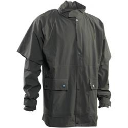 "Hunting rain jacket ""Deerhunter Greenville"" - olive - size S to 4XL"