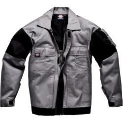 """Arbeitsjacke """"GDT 290"""" - Dickies - grau/schwarz - 100% Baumwolle"""