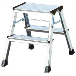 "Double folding steps ""Rolly"" - Krause - 0.45 m standing height"