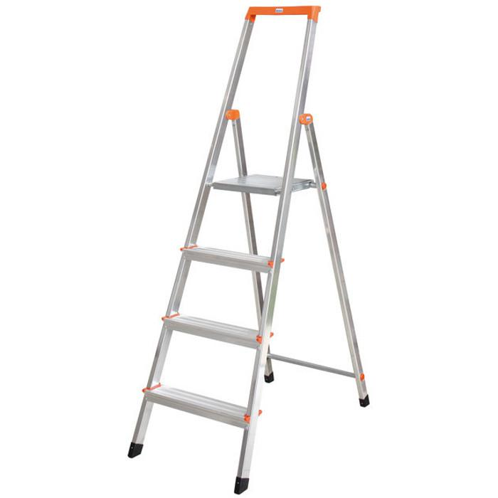 """Stufen-Stehleiter """"Solidy"""" - Krause - 0,65 m bis 1,70 m Standhöhe"""
