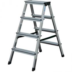 "Stage double ladder ""Dopplo"" - Krause - 0.45 m to 1.50 m standing height"