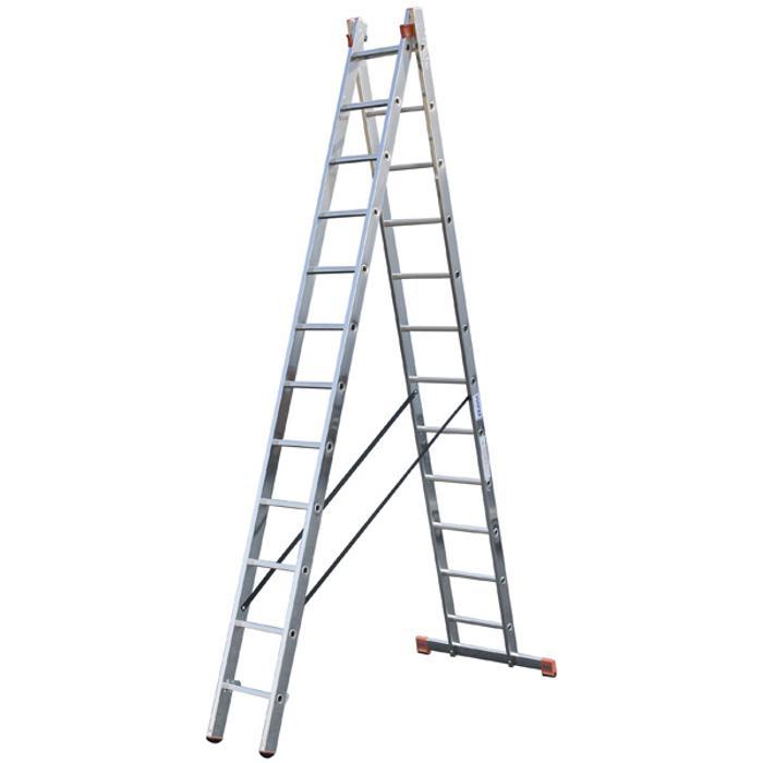 """Mehrzweckleiter """"Dubilo"""" - Krause - 3,90 m bis max. 4,95 m Arbeitshöhe"""
