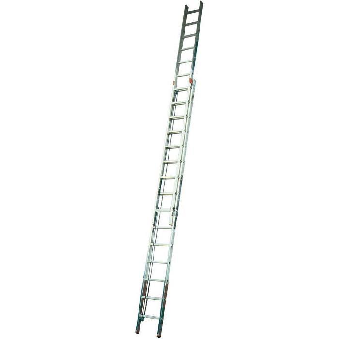 """Seilzugleiter zweiteilig """"Robilo"""" - Krause - 5,50 m bis 10,10 m Arbeitshöhe"""