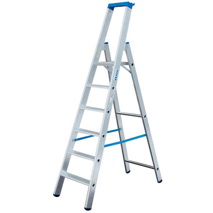 """Stufen-Stehleiter """"Stabilo"""" - Krause - 0,70 m bis 2,80 m Standhöhe"""
