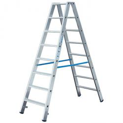"Stage double ladder ""Stabilo"" - Krause - 0.75 m to 2.80 m ladder height"