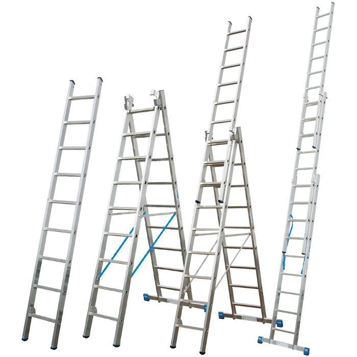 """Vielzweckleiter """"Stabilo"""" - Krause - 2,40 m bis 10,25 m Leiterlänge"""