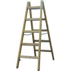 Rung ladder Double - Krause - wood - to 3.20 m ladder height