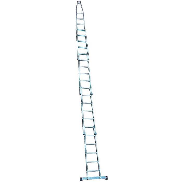 Glasreinigerleiter - Krause - 4,30 m bis 7,10 m Leiterlänge