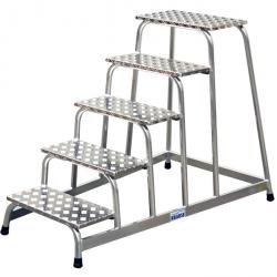 Machine steps - Krause - 0.20 m to 1.0 m platform height
