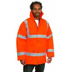 High-visibility jacket street - EN471 Class 3 - 100% polyester