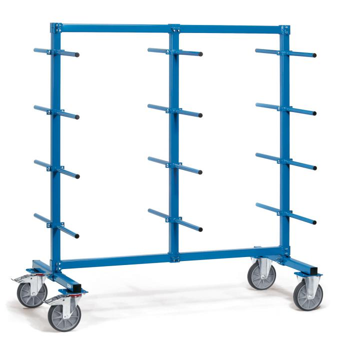 Carrier spars - 24 carrying arms bilaterally - 500 kg