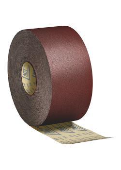 Schleifpapier Rolle PS 29 F - Breite 110 bis 115 mm - Länge 50000 - Korn 60 bis 180