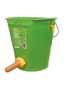 Drinking bucket with hygienic valve - Contents 8 l