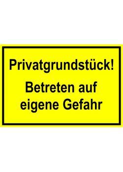 """Tillgång och logga """"Privat webbplats! """"Ange på din egen risk """""""