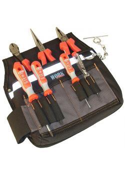 """Assortiment de pinces Compact """"P"""" poignées MK - longueur 180 mm / 200 mm - 7 pcs"""