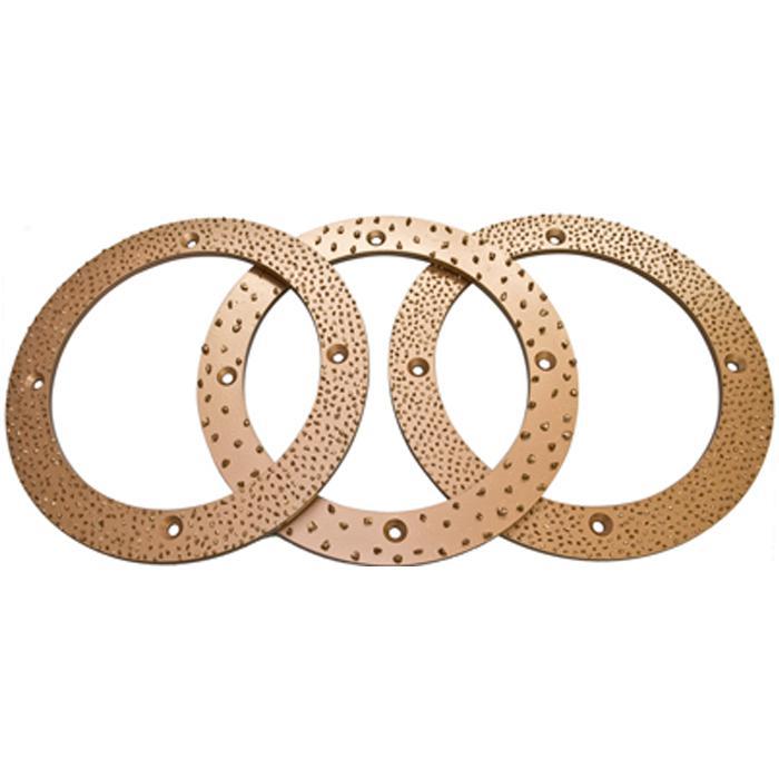 Volframkarbid grit ring - diameter 400 mm - grit KG 6, 10 eller 14 KG14