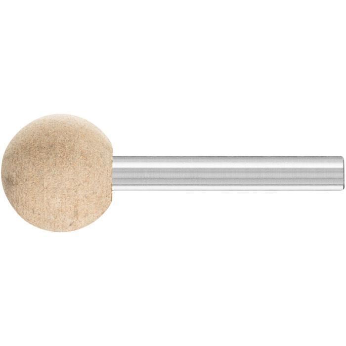 Schleifstift - PFERD Poliflex® - Schaft-Ø 6 mm - Kugelform - für Stahl und Titan - VE 10 Stück - Preis per VE
