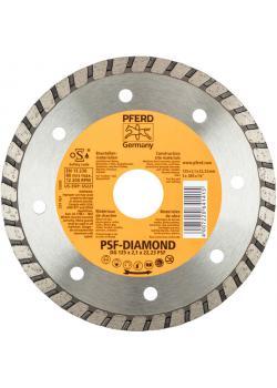 Diamanttrennscheibe - PFERD - Baustellenausführung - Scheiben-Ø 125 und 178 mm - Preis per Stück