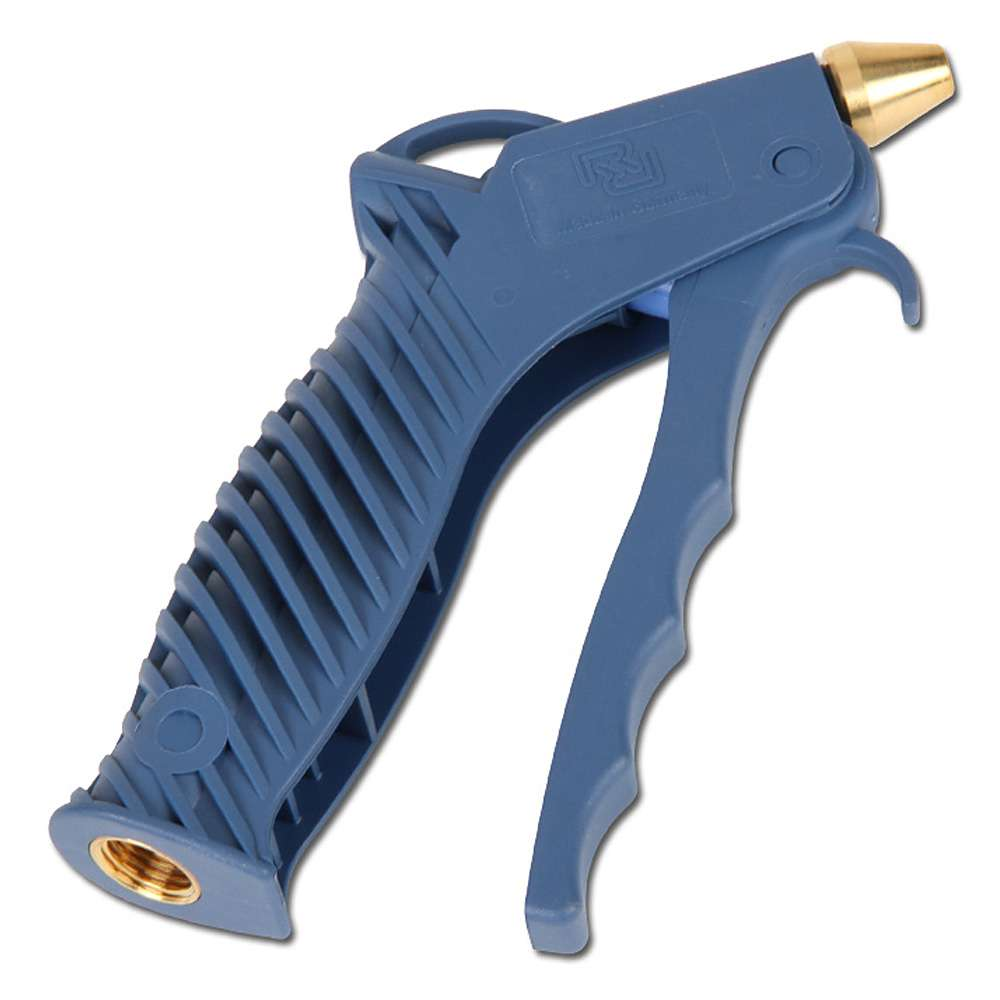 Ausblasepistole mit Kurzdüse - dosierbar - Kunststoff