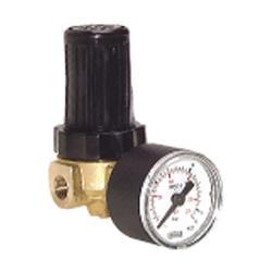 """Mini-Régulateur de pression - G 1/8"""" et 1/4"""" - de 0,1 à 16 bar - 340 l/min - air + eau"""