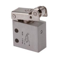 Interrupteur de fin de course 3/2-voies - modèle standard - M5 - soupape à roule