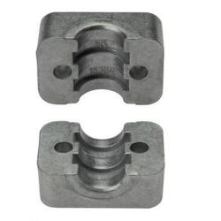 Jaws for pipe clamps aluminum light series