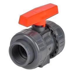 Zawór kulowy z IG PVC-U Industrieausf. - PN 16/10