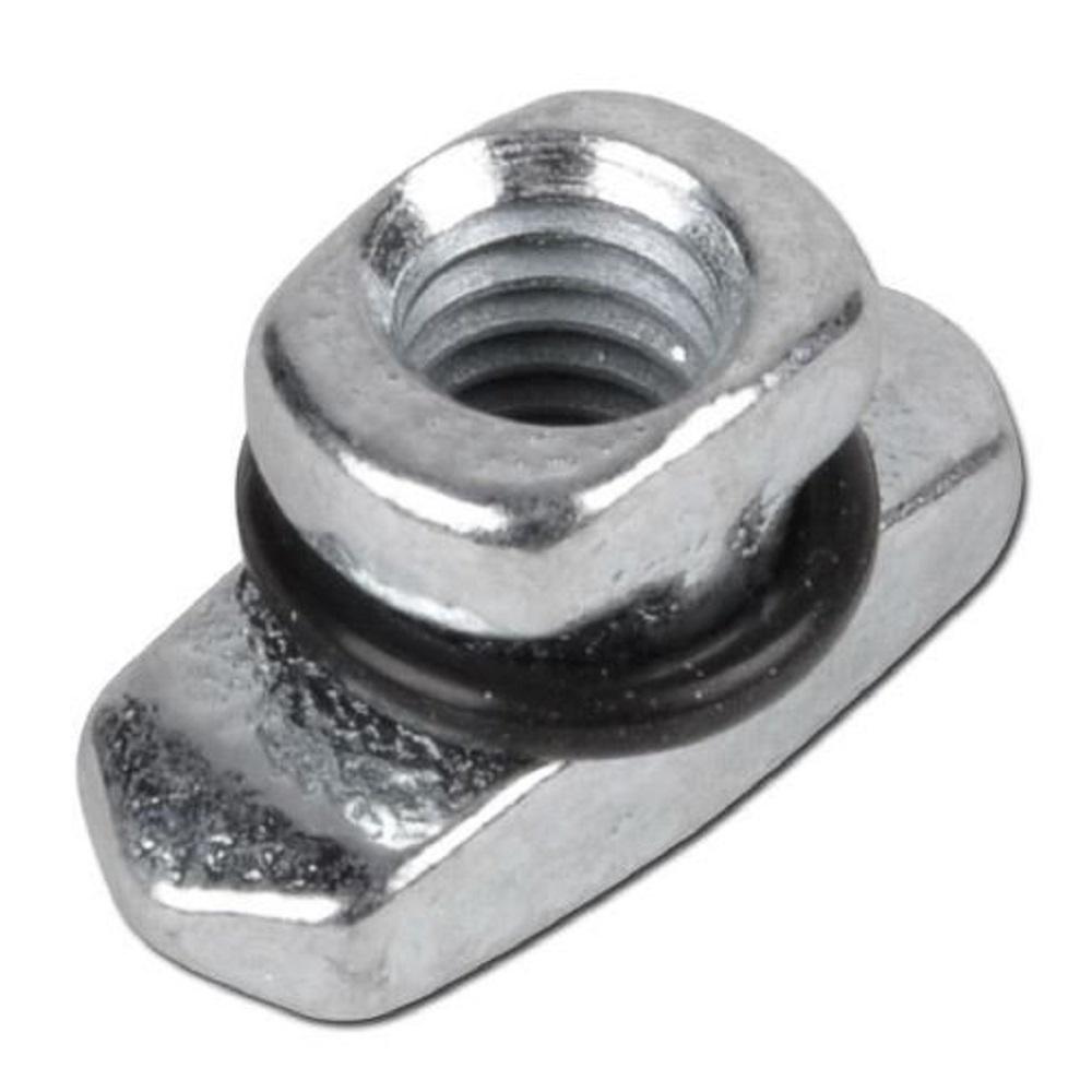 Écrou pour rail pour les colliers de serrage - série légère