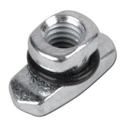 Tragschienenmutter - für Rohrschellen - M 6 - 8 - Stahl verzinkt oder Edelstahl 1.4571 - Preis per Stück