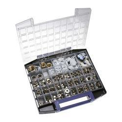"Multibox - Messing-Fittings - M 5 - G 1"" - Gewicht 6 kg"