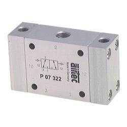 Valve pneumatique à impulsions avec pistons différentiels - 3/2-voies - air comp